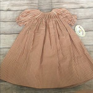 Other - Girls Smocked Dress